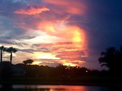 Sunset at St James Golf Club in Port St Lucie