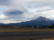 Mt. Shasta Cloud Formation