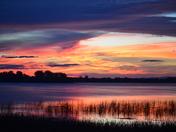 Lake Champlain, Rouses Point sunrise