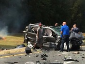 wreck on I-77 outside of Rock Hill