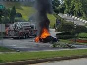 Forest Hills car fire