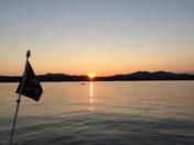 Sunset on Conway Lake NH