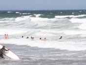 Nantasket Surfers loving Hermine today.
