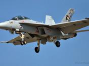 U.S. NAVY F/A 18F SUPER HORNET