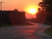 Sunset in Union Cross 9/8/2016