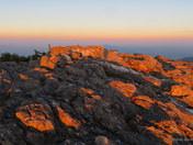 Sunlit Sunset on Jay Peak