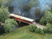 Bridge burning