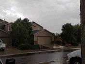 Rain in SW Albuquerque