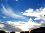 Sunset tonight in South okc