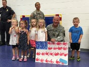 Mini- Patriots Run Held At The Goddard School To Honor Our Everyday Heroes