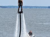 Hydro jetting in Lake Geneva