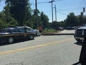 Wreck on Haywood Road