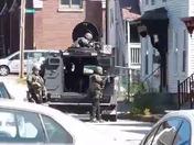 Manchester SWAT Arrests on Mmerrimack Street