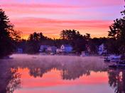 Arlington Lake sunrise