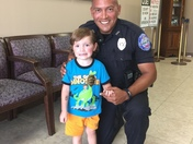 Flowood Police, Officer Ray and Tyler