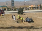 Soledad roll over with a 7month old infant inside