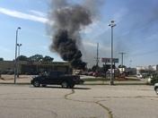 Fire in Ames