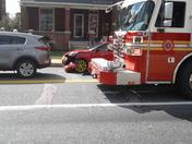 Car crash marine hurt