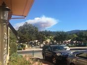 Lina Prieta fire from Los Gatos
