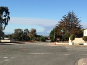 Smoke from fire in Santa Cruz Mountains