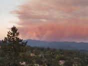 Fire at Loma Prieta