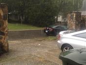 Huge Hail Storm In Greensboro NC
