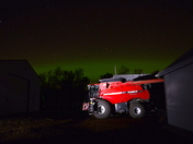 Northern Lights on the farm