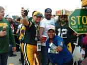 Packer Game in Green Bay