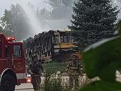 Dousman Bus Co fire