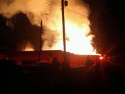 Huge Warehouse Fire