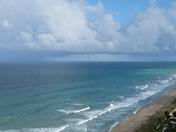 Water spout from Jensen beach