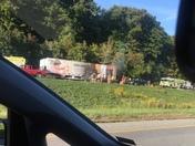 Major backup on I80 west