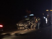Screenshots of accident on Hwy-1 at Jensen Rd