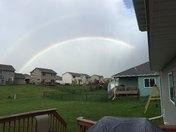 Double Rainbow in Ankeny