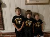 Triplet Penguins fans
