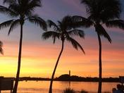 Sunset after Hurricane Matthew