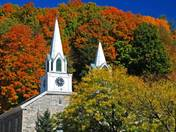 church steaples in springdale