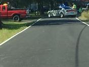 Truck wreck Wayne twp