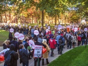600 Harvard workers on strike day 7