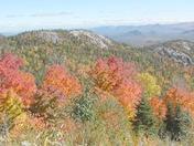 Whiteface Mt. ski trail view of Bear Den 10-10-16