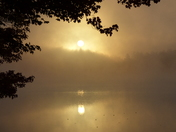 Sunrise over Pearly Pond