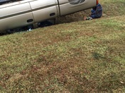 Accident near Sam's Club in Fayetteville