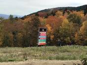 Foliage on Columbus Day weekend in Sunday River Maine