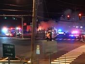 Waltham Car Fire