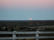 Moon view from Gloucester Hill