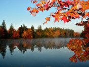 Autumn colors and reflections