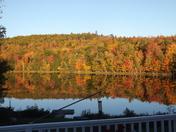 Fall color in Dixfield.