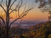 October Sunrise from Alleghany County