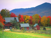 Simple little farm in vermont
