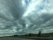 Neat clouds at KCI